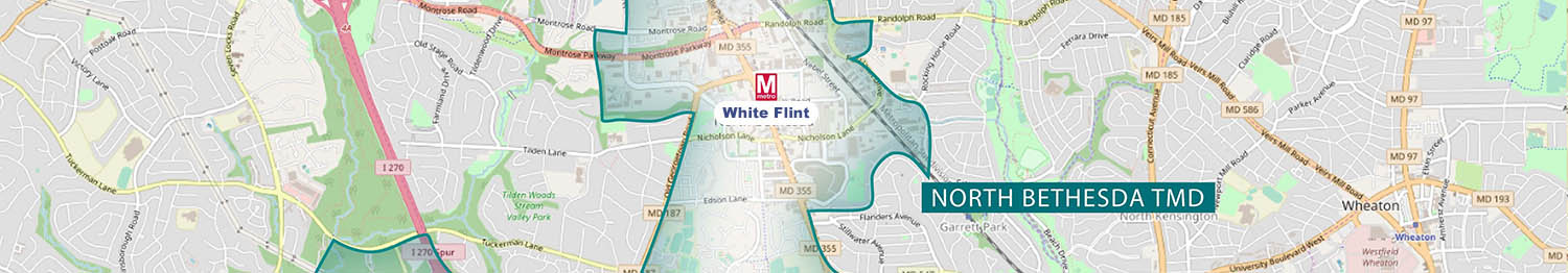North Bethesda Map White Flint